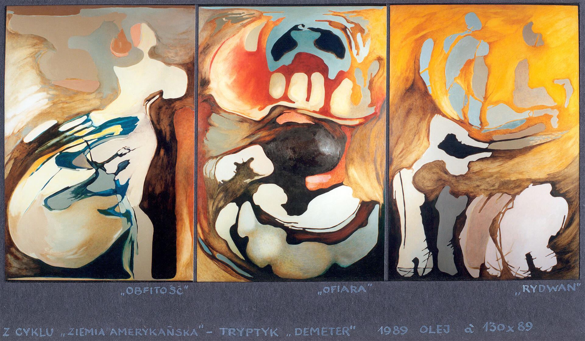 """1989, Bartoszko Leokadia """"Demeter"""""""