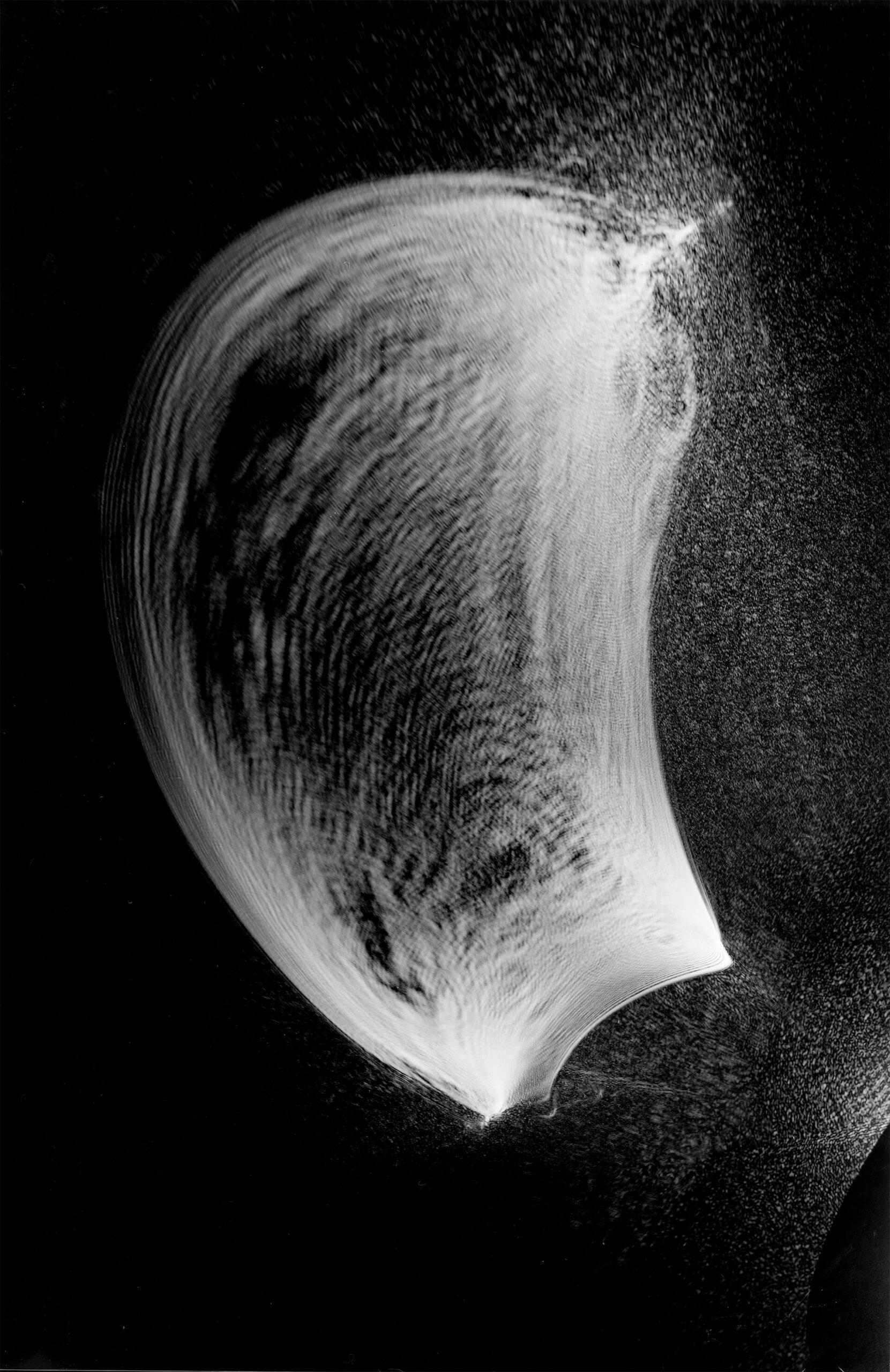 """Fotografia laserowa początek lat 80-tych<br> Bartoszko Leokadia """"Laserowe 6"""""""